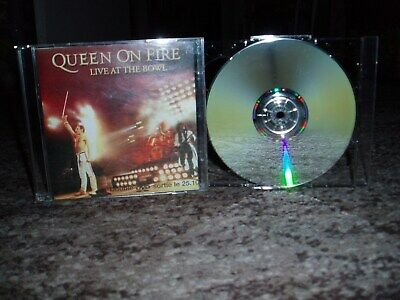 "Queen on fire  rare double dvd promo france ""live at the bowl"""
