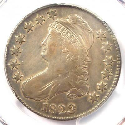 1823 Patched 3 Variety Capped Bust Half Dollar 50C - PCGS VF30 - $535 Value!