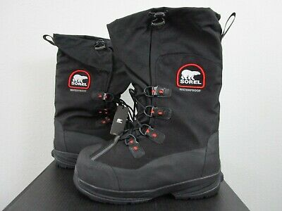 3f85b032d1e SOREL INTREPID EXPLORER Extreme Waterproof Snow Insulated Boots Mens ...