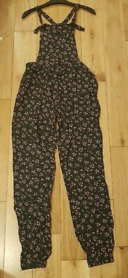 Bluezoo Girls Floral Navy Jumpsuit Playsuit Age 14 Years