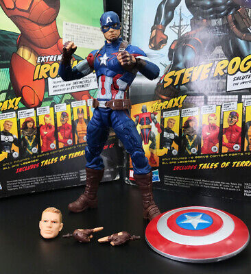 "Marvel Legends Captain America 3 Civil War Steve Rogers 6"" Loose Action Figure"