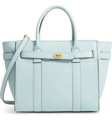 4ee3574396 MULBERRY SMALL ZIP Bayswater Classic Leather Tote - $1,104.65 | PicClick