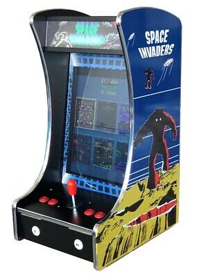 🔥 Upright Bartop Tabletop Cocktail Arcade Machine 60-1 Classic Games Coin Optio