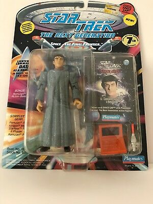 "Star Trek TNG 4.5"" Lt Comm Data as Romulan Action Figure Playmates - MOC"