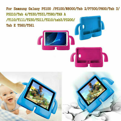 """9.6"""" 10.1"""" 7"""" Kids Shockproof Rubber Cover For Samsung Galaxy Tab 3 4 A E Tablet"""