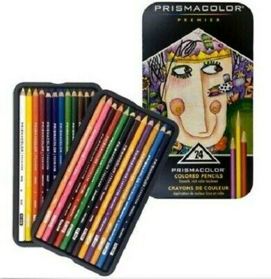 Sale Prismacolor Premier 24 Colored Set Art Core Sake Soft Colored Pencil_agce