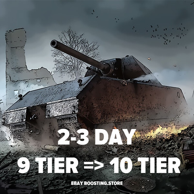 World of Tanks Stock 9 tier to top 10 tier for 2-3 days