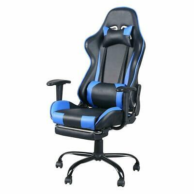 New High Back Swivel Chair Racing Gaming Chair Office Chair with Footrest Tier