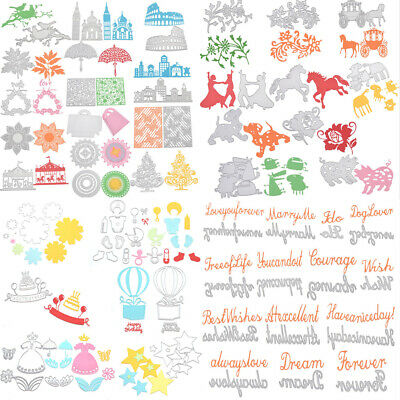 Metal Cutting Dies Die Cut Stencil Embossing Folder Scrapbooking Album Christmas