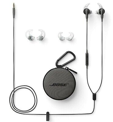 Bose SoundSport In-Ear Headphones for Samsung and Android Devices Charcoal Black