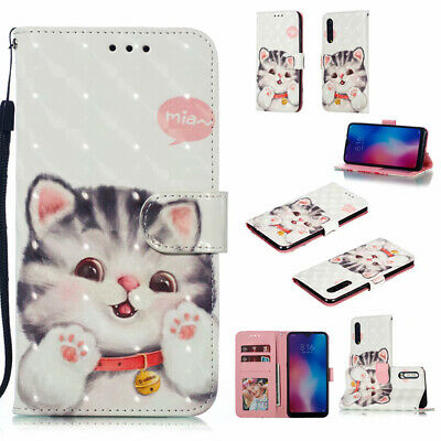 Luxury Flip Magnetic Wallet Pattern PU Leather Case Cover With Stand For Phones