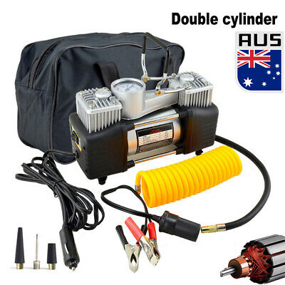 85L/MIN Car Air Compressor 12V 150PSI Tyre Inflator Pump 4x4 Portable Double