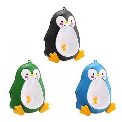 Cartoon Penguin Potty Urinal Toilet Bathroom Pee Trainer for Kids Boys pp en