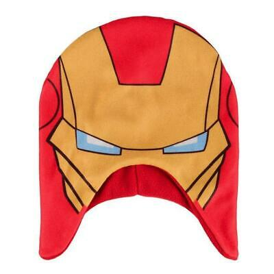 Hat the Avengers Iron Man Marvel Ironman Plush Beanie Cinema #1