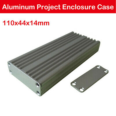 Enclosure Case Aluminum Box Circuit Board Project Electronic 110*44*14MM DIY New