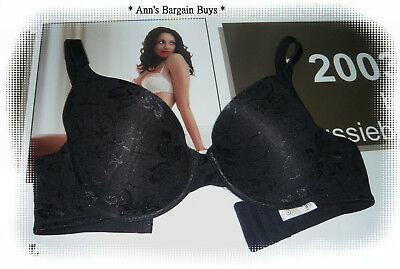 Target * Woman's size 12DD-Floral Lace Covered-Padded-Under Wire Bra-Black-NWOT