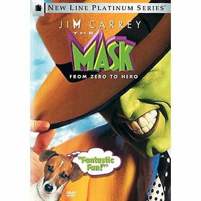 The Mask (DVD, Region 1) Very Good condition from personal collection!