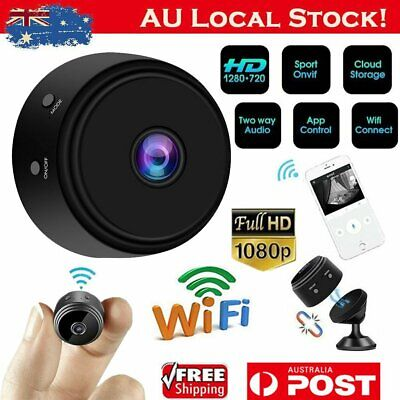 HD 1080P Mini Wifi Wireless Smart Home Security IP Camera Night Vision IR Cam AU