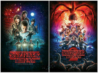 Stranger Things Complete Seasons 1 and 2 DVD - Postage Free - New/Sealed