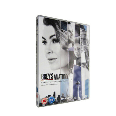 Grey's Anatomy Season 14 (DVD,6-Disc) Free shipping