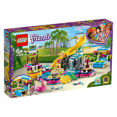 LEGO ® Friends 41374 Andreas Pool-Party DJane Musik N7/19
