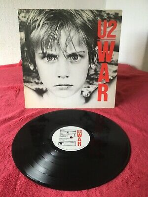 U2 WAR GATEFOLD LP Album Vinyl Record ILPS9733 A1U/B1U Rock