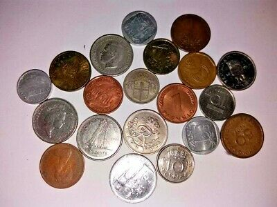 The Biggest Collection Of Mixed World Vintage Small Coins Large Lot /Attic Clear