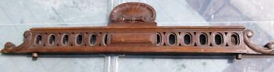 Vintage French Carved Mahogany or French Walnut Furniture / Door Pediment