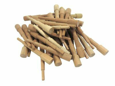 """Miller Dowel Pack 100 Each Mini Stepped Cherry Dowels for Stock up to 3/4"""" Thick"""