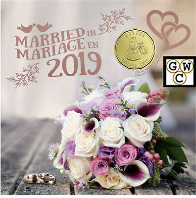 2019 Wedding Gift Set of Coins (18674)