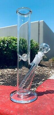 Hookah Water Pipe Heavy Glass 10 inch Tobacco Bong w/ ICE catcher Fast Shipping