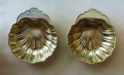 Vintage Gorham Sterling Silver Shell  Candy Or Nut Dishes No Mono Free USA Ship