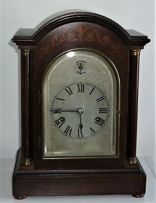 Antique Mantel / Bracket Clock With Chimes