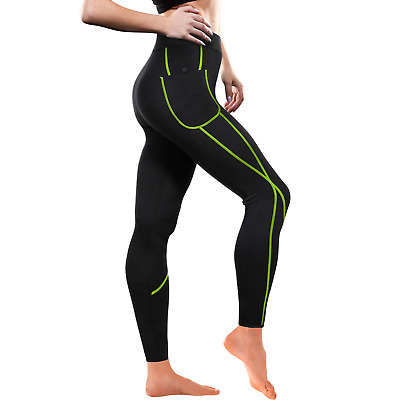 Gotoly Women Sauna Weight Loss Slimming Neoprene Pants with Side Pocket Hot T...