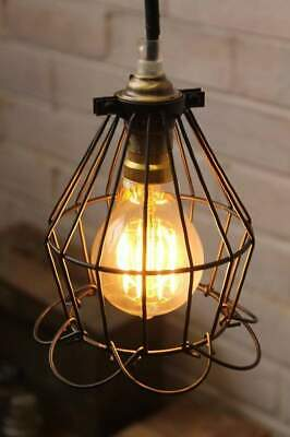 Cage Industrial Pendant - Ball Trouble Light