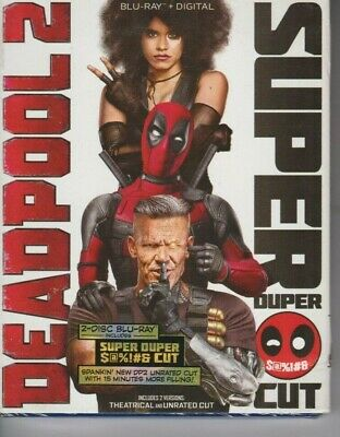 Deadpool 2 Super Duper Cut Blu-ray+Digital (Theatrical and Unrated Cut)