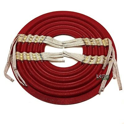 """8.35"""" x 3"""" Semi Cupped Progressive Roll 4 Layer Red Spider Pack GR/ZP084#6-RD"""