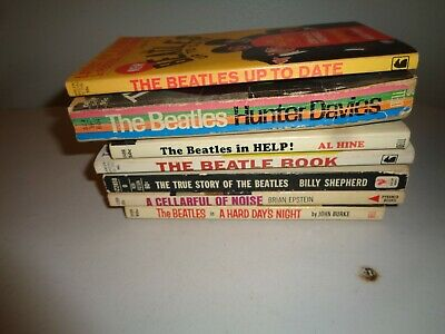 The Beatle Book Paperback Lot Of 7