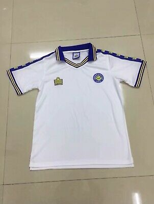 BNWT Retro Admiral Leeds United Football Shirt Sizes Small To XL Available