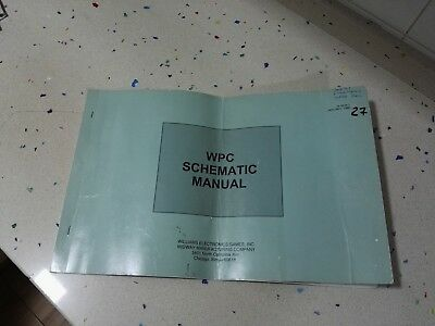 Williams WPC Original Schematic Manual