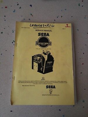 SEGA The Lost World Original Service Manual