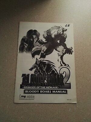 ING Bloody Roar 2 Original Manual