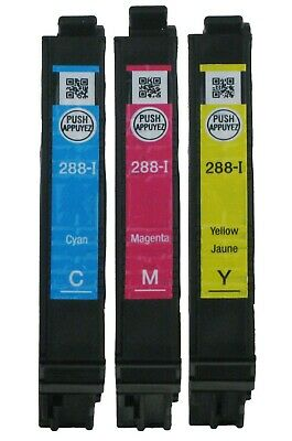 GENUINE Epson 288 288-I Ink Cartridge 3PK for XP-330 XP-340 P-430 XP-434 XP-440