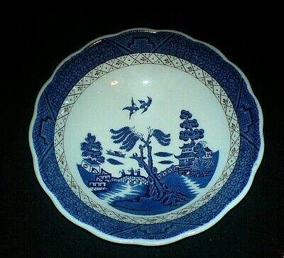 ROYAL DOULTON BOOTHS 'REAL OLD WILLOW' Blue 6¼  inch Bowl TC1126 c1981