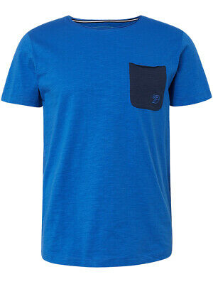 Tom Tailor Denim Herren T-Shirt mit Brusttasche
