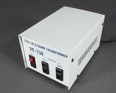 Step-Up & Down Transformers ST-750 110V-240V