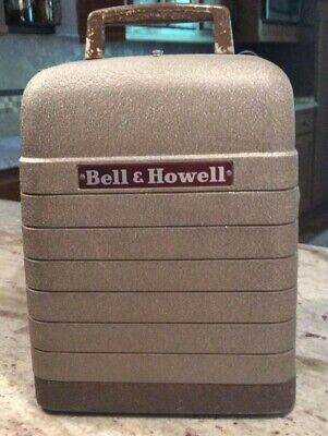 Projector,  Vintage Working Bell & Howell 8mm Projector Model 253-A Works