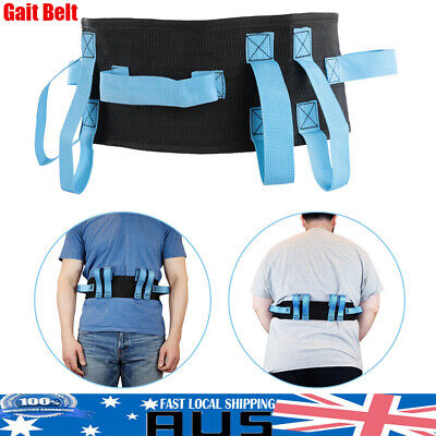 Gait Transfer Belt Wide Medical Lift Sling Safety Walking Quick Release Patient