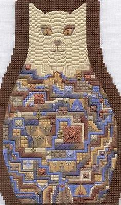 Creative Needlepoint CAT Design: GREIG All Levels by DAKOTA ROGERS