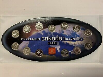 2000 Canada Millennium Set - Royal Canadian Mint
